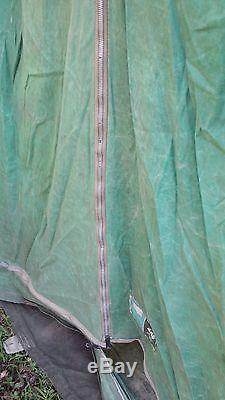 Vintage Large Green Canvas Tent Sears
