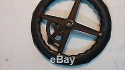 Vintage Lawn Tractor Pedal Car Toy Steering Wheel American National Co