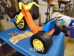 Vintage MARX Toys 1976 Original Big Wheel Deluxe Close To Unused Please Read
