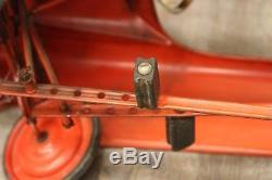 Vintage MURRAY City Fire Chief Pedal Car 1950's All Original
