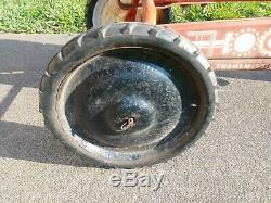 Vintage MURRAY Pedal Tractor Chain Drive TRANSMISSION With Metal Seat. PEDAL CAR