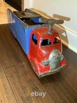 Vintage Marx COE'36 STUDEBAKER, Child Ride On Truck