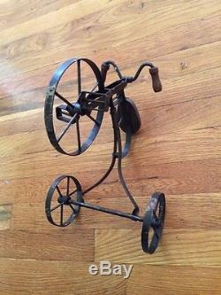 Vintage Mini Tricycle Decor/Toy Vintage Wood & Metal