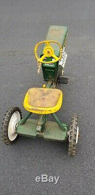 Vintage Murray 2 Ton Diesel Pedal Car Tractor