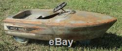 Vintage Murray Boat Pedal Car Jolly Roger