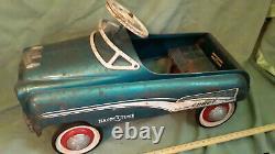 Vintage Murray Comet Happi Time Ball Bearing Pedal Car Original Nice Shape 50's