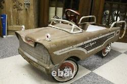 Vintage Murray Dude Wagon Pressed Steel Pedal Car Toy Car