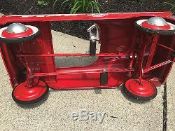 Vintage Murray Fire Chief Pedal Car