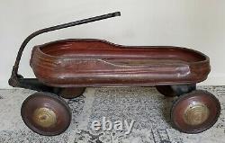Vintage Murray Mercury Coaster Wagon Streamline Art Deco