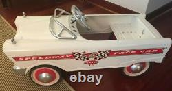Vintage Murray Pace Car metal pedal car Fully restored