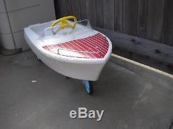 Vintage Murray Pedal Car Boat