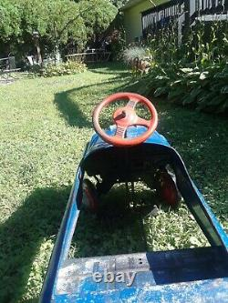 Vintage Murray Pedal Car Champion, Blue, Original, Great Used Condition