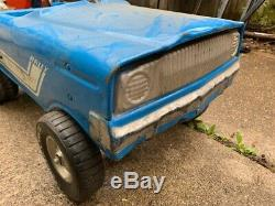 Vintage Murray Pinto Rally Pedal Car Blue