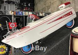 Vintage Murray Skipper Boat Pedal Car 1968 1972 Very Good Condition
