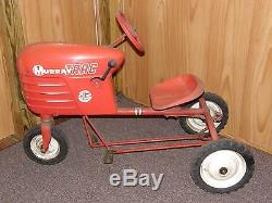 Vintage Murray Trac Jet Flow Pedal Farm Tractor Children's Toy Pressed Steel