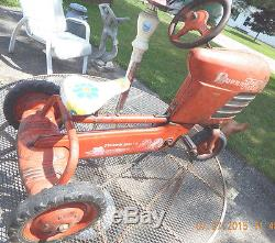Vintage Murray Trac Turbo Drive Pedal Tractor