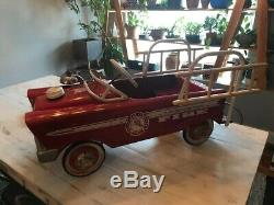Vintage Murray pedal fire truck