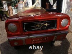 Vintage Mustang AMF Junior Pedal Car
