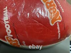 Vintage NERF Football 1977 Red White Factory Sealed Parker Brothers Rare 1970s