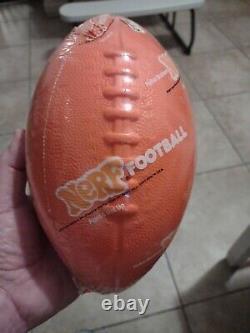 Vintage NERF Football 1977 Sealed Original Packaging Parker Brothers Orange