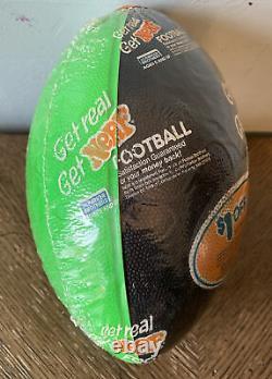Vintage NERF Football 1990 Sealed Original Packaging Parker Brothers Green Black