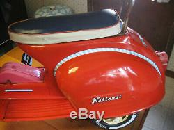 Vintage National Pedal Scooter