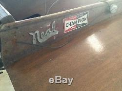 Vintage Neal Hydroplane, outboard racing, race boat