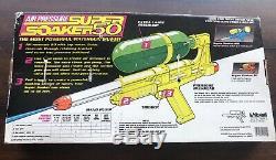 Vintage Nos 1990 Larami Super Soaker 50 NIB Water Squirt Gun RARE