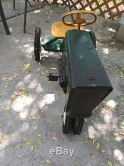 Vintage, Old Murray 2 Ton Pedal Tractor