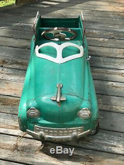 Vintage Original 1950's MURRAY Pedal Car DIP SIDE SUBURBAN JET FLOW DRIVE