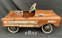 Vintage Original 1960's Amf A 533 Super Sport Pedal Car 36