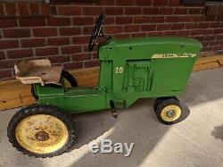 Vintage Original ERTL John Deere 20 Pedal Tractor D-65