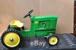 Vintage Original Ertl 1991 John Deere 4020 Diesel Pedal Tractor