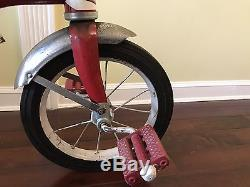 Vintage Original Garton Delivery Cycle Tricycle Wagon / Extremely Rare
