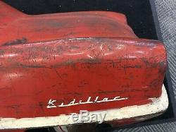 Vintage Original Garton KIDILLAC Fire Dept, Pedal Car