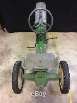 Vintage Original The ERTL Dyersville Iowa USA Pedal Tractor Model D-65