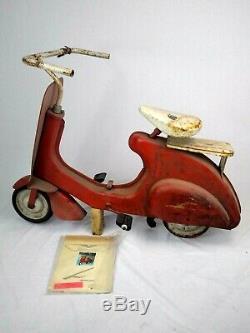 Vintage Original Vespa Super Sonda pedal scooter decals Lambretta GS VBB VL VNA