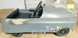Vintage Pedal Car AMF/Murray Metal Classic Car Junior Kids Ride On (BARN FIND)