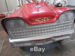 Vintage Pedal Car. Fire Truck
