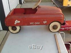 Vintage Pedal Car Lot