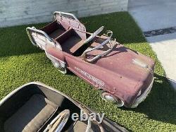 Vintage Pedal Car Lot Rare