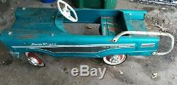 Vintage Pedal Car Murray Dude Wagon Blue Pre-1970 Local Pickup Only Mn