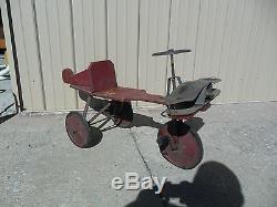 Vintage Pedal Plane 1920's Sifers Candy Plane SUPER RARE! Valomilk Chocolate