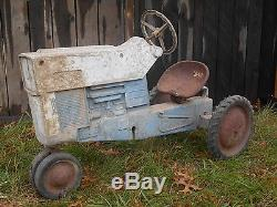 Vintage Pedal Tractor FORD COMMANDER 6000 ERTL F-65 HTF RARE
