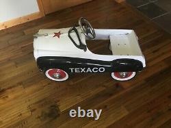 Vintage Petal Car Texaco New Tires