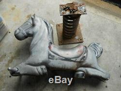 Vintage Playground Horse Spring Ride J. E. Burke
