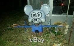Vintage Playground Spring Ride See Saw Teeter Totter Mouse