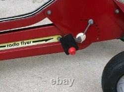 Vintage RADIO FLYER Chain Drive Pedal RED Race Car 35 long