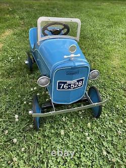 Vintage RARE Steelcraft Cadillac Pedal Car