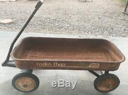 Vintage Radio Flyer Wagon Model 90 Needs restoration